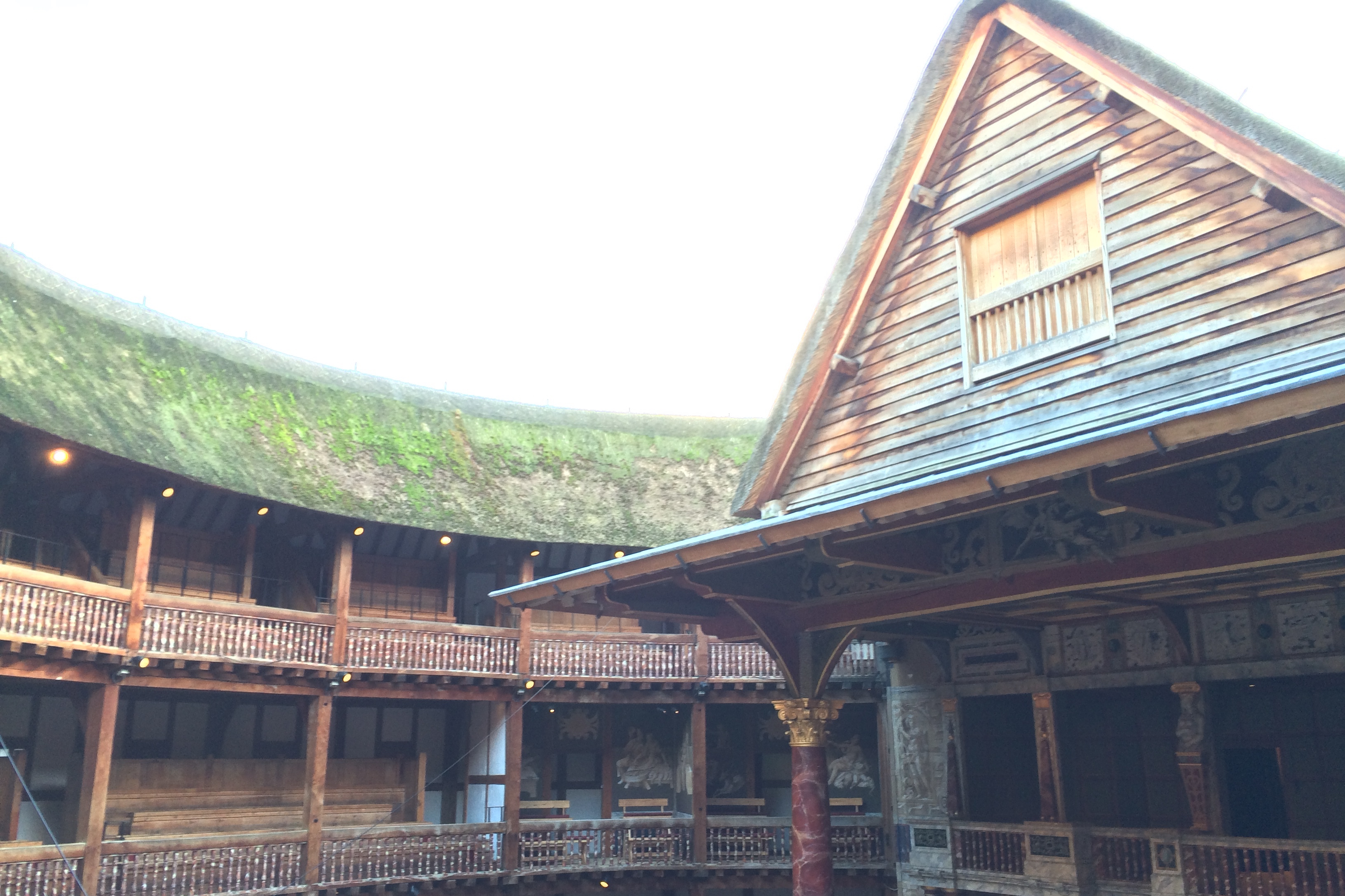 Globe - Thatched Roof