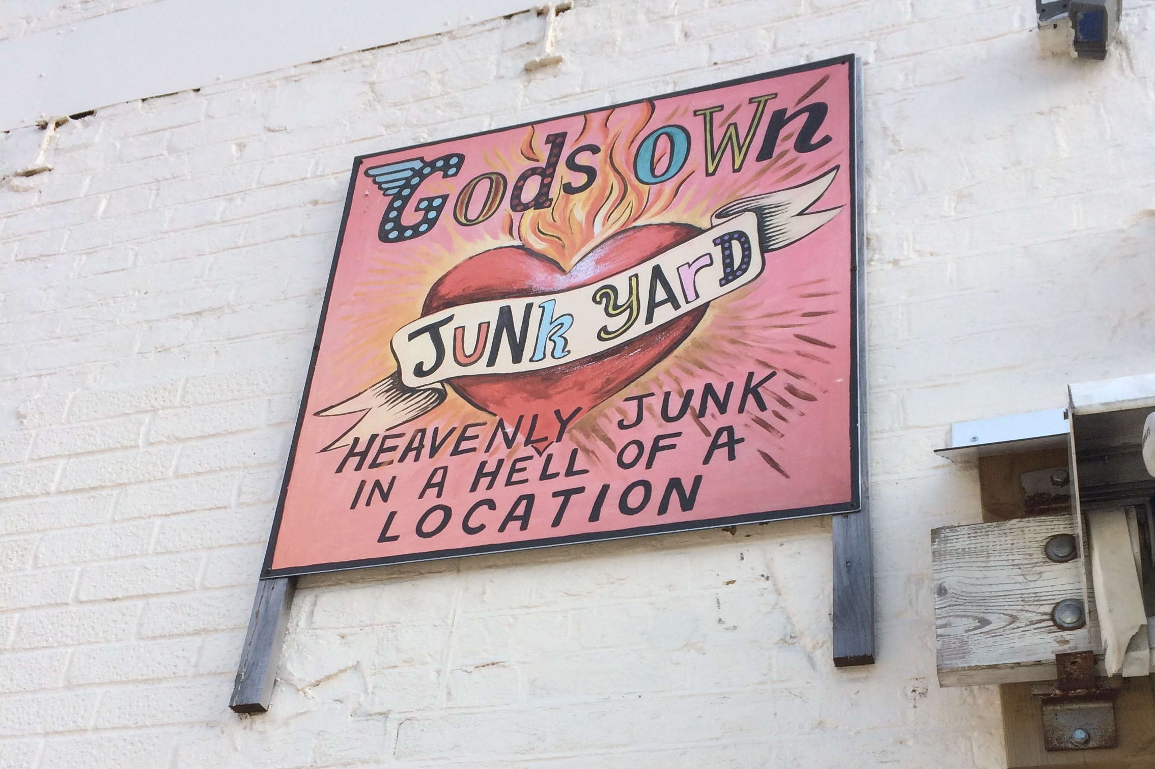 God's Own Junkyard: Heavenly Junk in a Hell of a Location