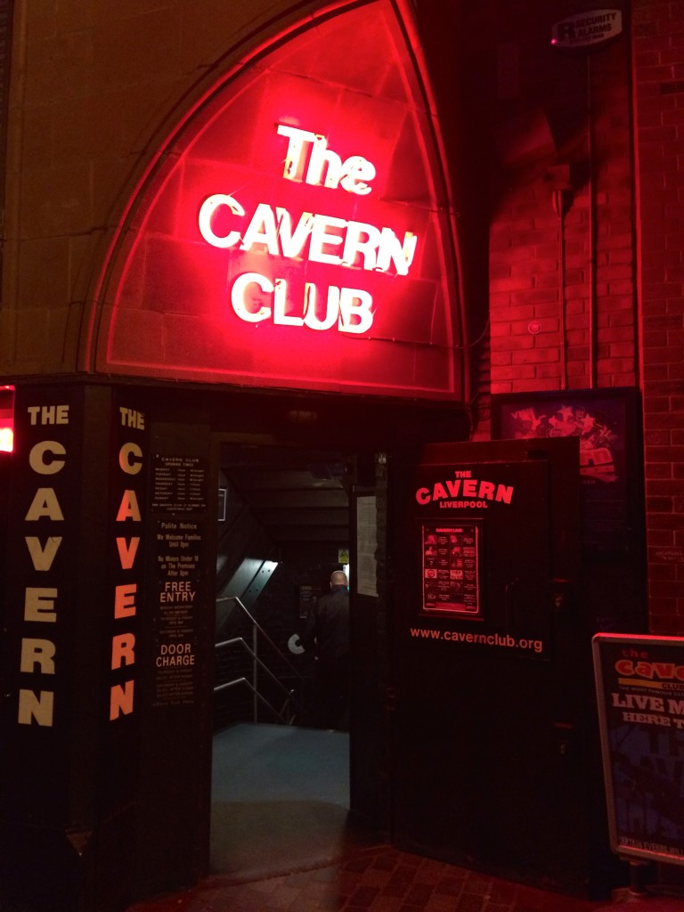Entrance to the Cavern Club